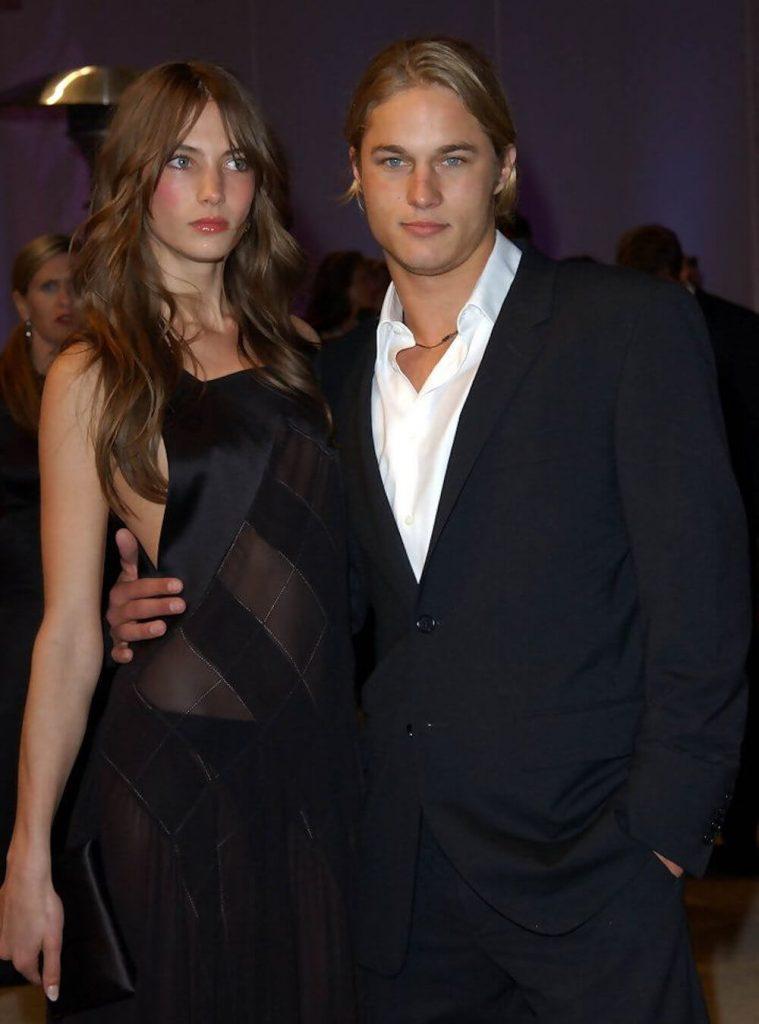 Travis Fimmel and ex Jessica Miller