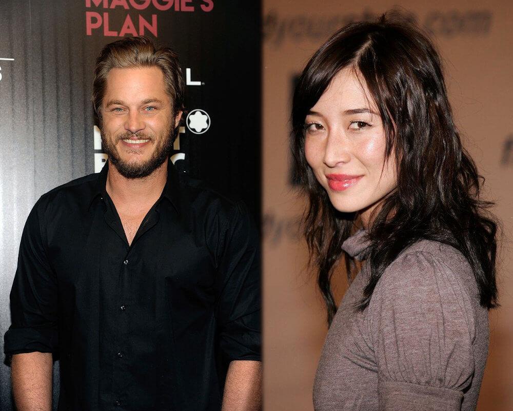 Travis Fimmel and girlfriend Mei Melancon