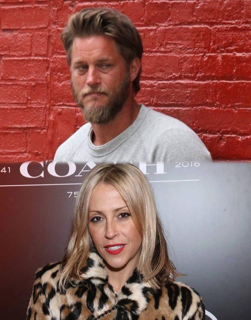 Travis Fimmel and ex Nicole Appleton