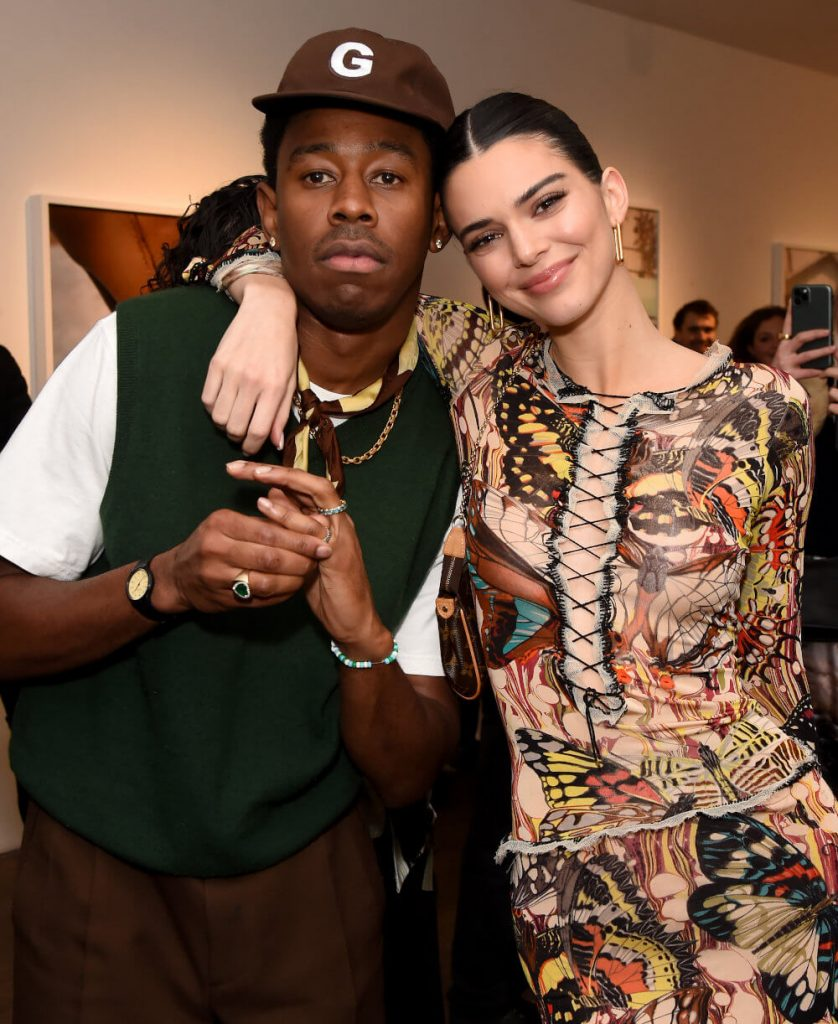Tyler, the Creator and ex girlfriend Kendal Jenner