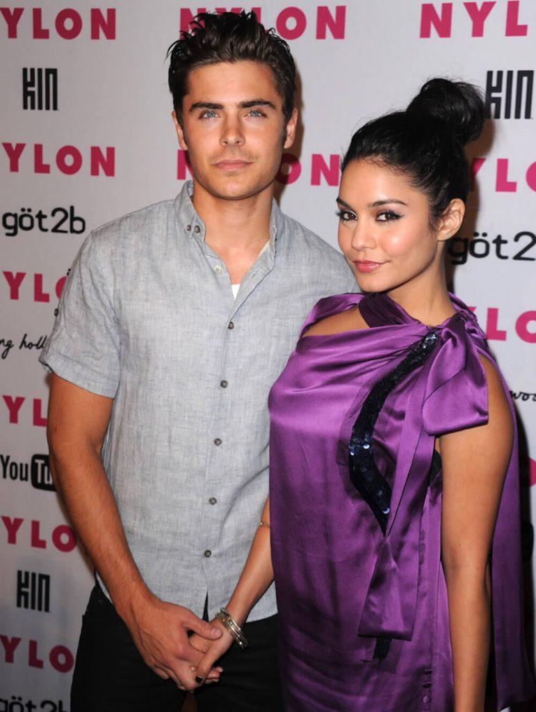 Vanessa Hudgens and ex boyfriend Zac Efron