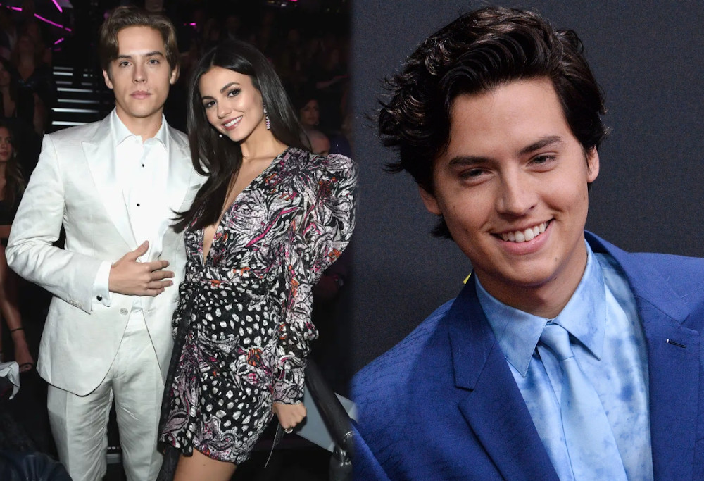 Victoria Justice and boyfriend Cole Sprouse