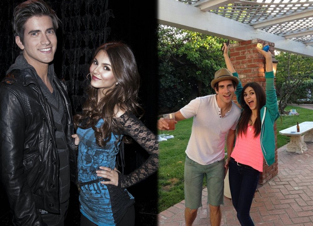 Victoria Justice and ex boyfriend Ryan Rottman