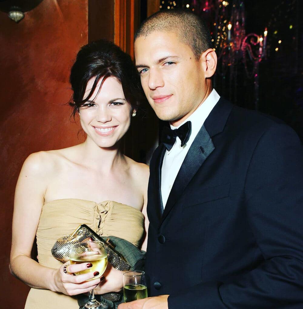 Wentworth Miller and ex girlfriend Mariana Klaveno