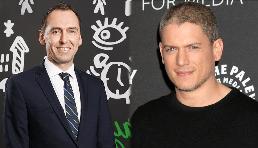 Wentworth Miller and Mark Liddell
